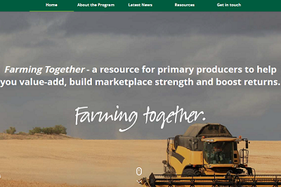FARMING TOGETHER WEBSITE PROVIDES VALUABLE RESOURCES AND OPPORTUNITIES FOR FARM COLLABORATION