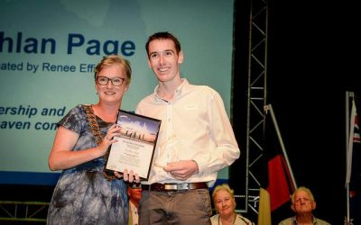 Lachlan Page Wins Young Citizen Award