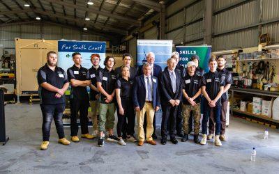 Shoalhaven STEMship Launch Addresses Youth Unemployment