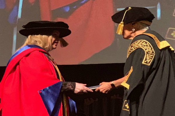 Yuin Elder Aunty Gail Wallace Receives Honorary Doctorate From UOW