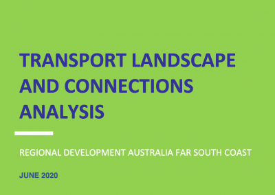 Transport & Landscape Connections Analysis