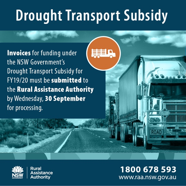 Drought Transport Subsidy
